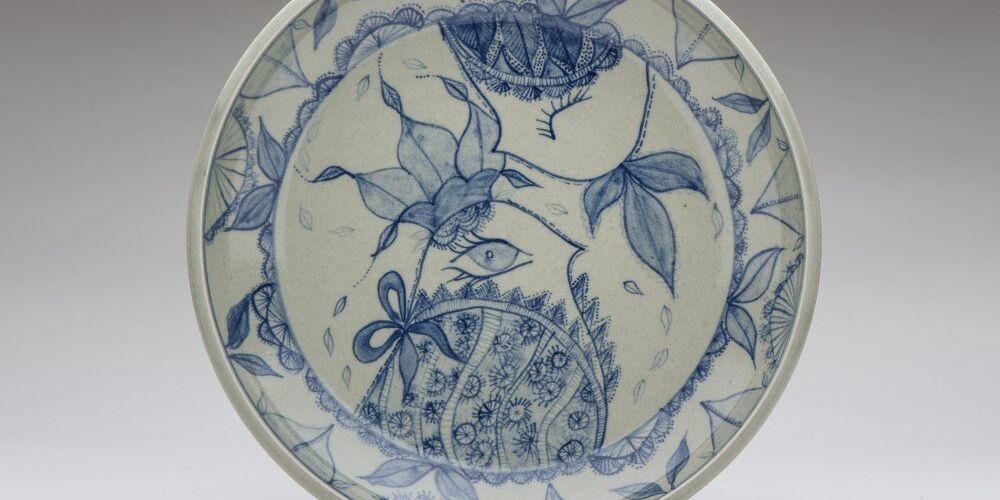 'Bird 'series - celadon/cobalt