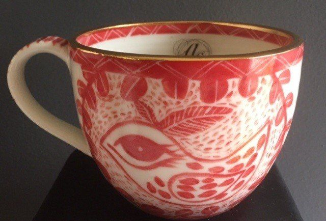 Regular sized Porcelain cup