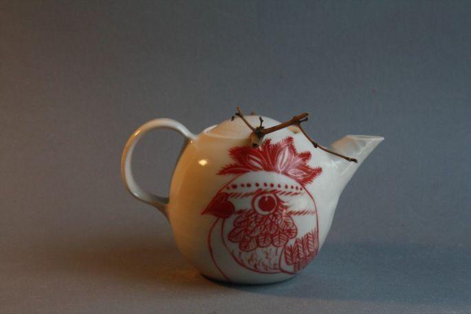 'Pardalote'  Teapot