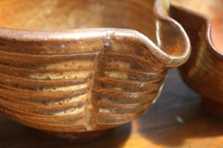 Shino Mixing bowl -detail