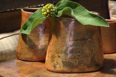 Shino Slab Vase